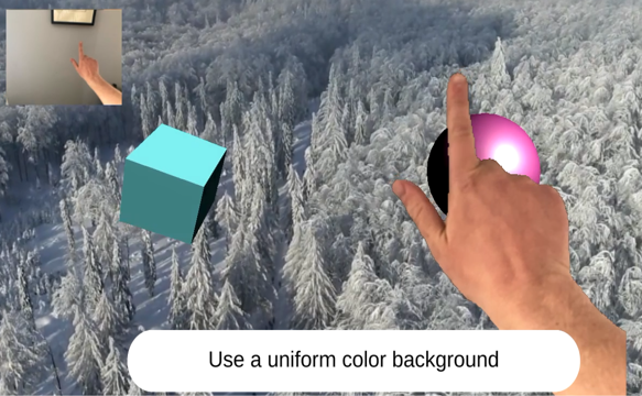 Hand tracking, Mobile AR, Augmented reality, hand gestures, gesture motion