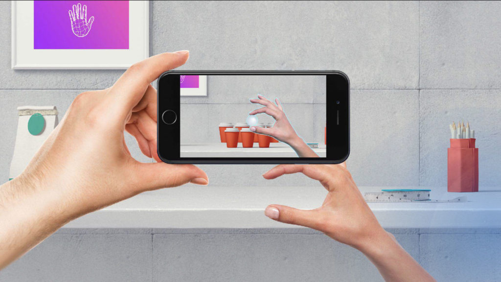 Gesture recognition and gesture control with Manomotion SDK